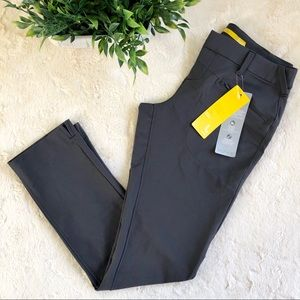 Lole grey golf hiking outdoor pants zip pockets 4